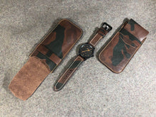 Load image into Gallery viewer, Vegetable Tanned Leather Watch Pouch