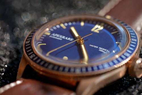 ApexRare Christopher Ward Bronze Trident C65 Homage