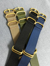 Load image into Gallery viewer, Bronze Hardware Nato Strap - WR Watches PLT