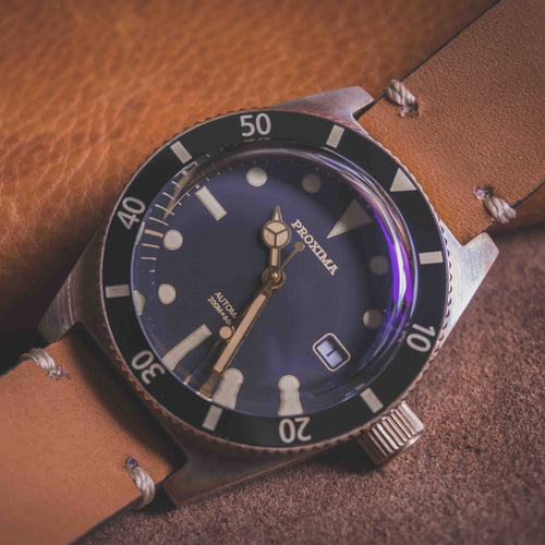 Proxima Bronze 65 - WR Watches PLT
