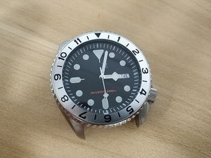 Aluminium Bezel Insert for SKX007 / 009 - WR Watches PLT