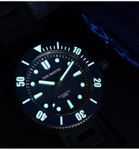 Load image into Gallery viewer, San Martin DLC Damascus Iceball - WR Watches PLT