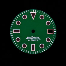 Load image into Gallery viewer, Matte Green Dial for Seiko Mod