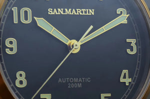 San Martin Bronze Big Pilot - WR Watches PLT
