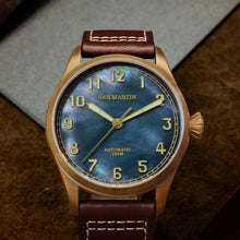 Load image into Gallery viewer, San Martin Bronze Big Pilot MOP Dial