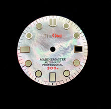 Load image into Gallery viewer, White MOP Dial for Seiko Mod