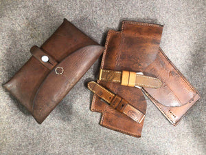Ammo Pouch Leather Strap