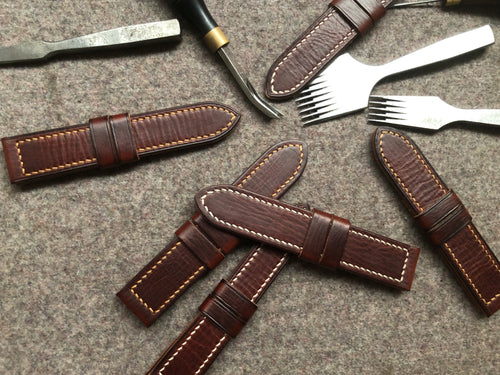 Vegetable Tanned Leather Strap