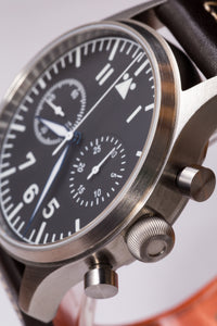 Escapement Time Steel Pilot Chronograph