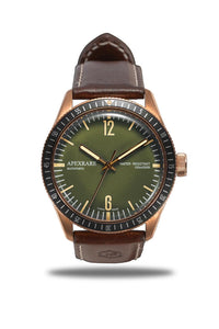 ApexRare Christopher Ward Bronze Trident C65 Homage - WR Watches PLT