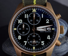 Load image into Gallery viewer, Hruodland Bronze Pilot Chronograph - WR Watches PLT