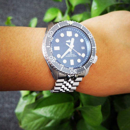 Stainless Steel Jubilee Bracelet for Heimdallr SKX