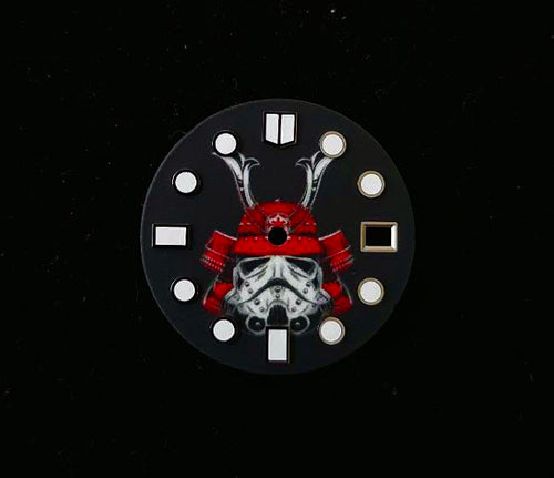 Full Luminous Samurai Dial for Seiko Mod