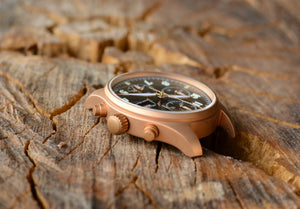 Hruodland Bronze Pilot Chronograph - WR Watches PLT