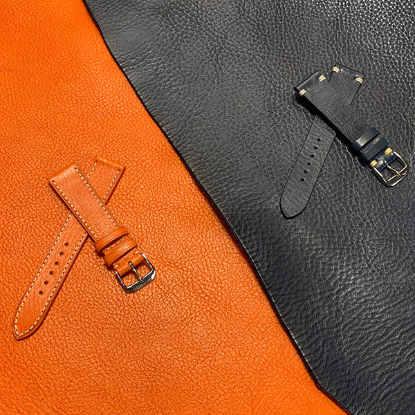 NeroBiglia unique leather, made in Italy