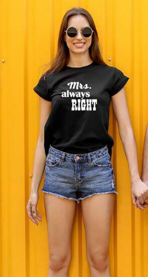 Mrs Always Right Mr Never Right