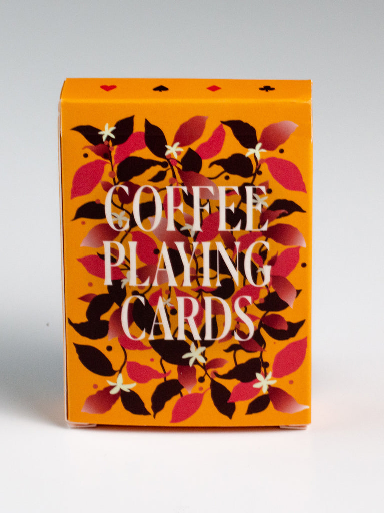 Coffee Playing Cards - Yellow deck