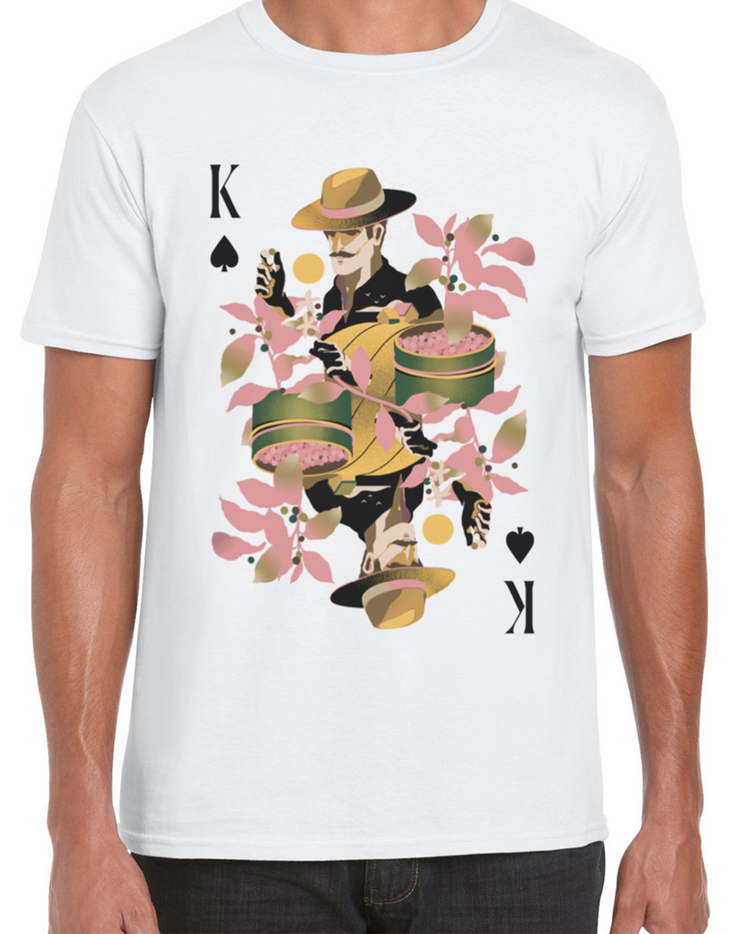 Coffee Producer/King of Spades T-shirt