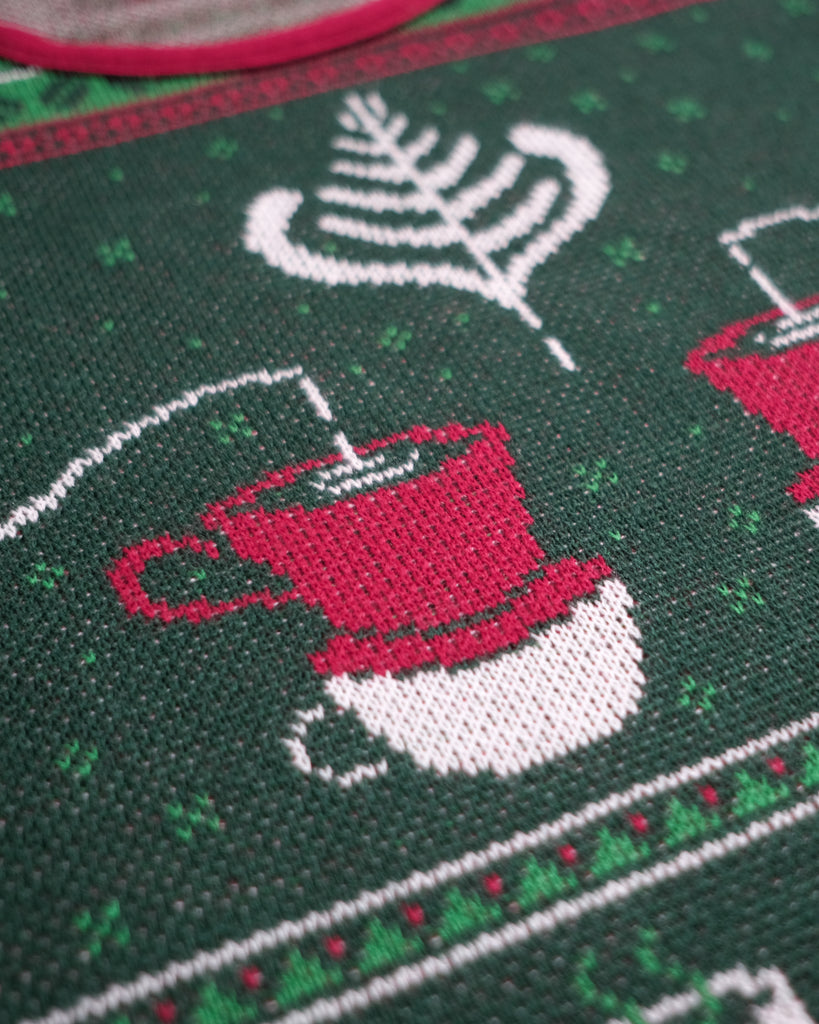 Ugly Christmas Coffee Jumper