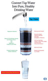 Aimex Fluoride Water Filter 8 Stage Fluoride Reduction Control KDF x1 - Ozstar.com.au