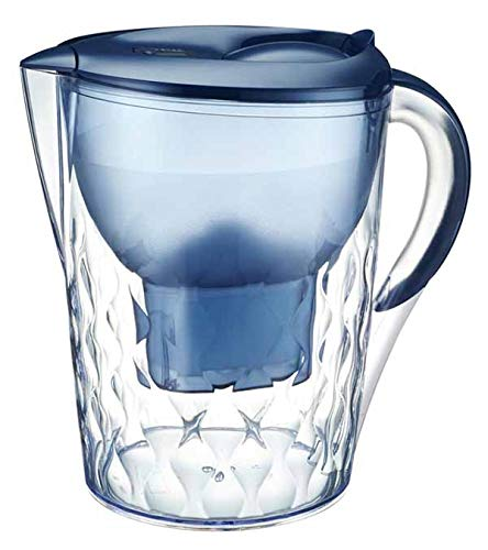 BenchTop Water Filter Pitcher Purifier Jug 3.5L Kettle Refill Portable Blue