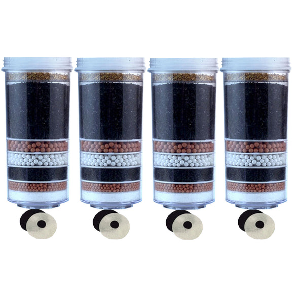 Awesome Aimex 8 Stage Water Filter cartridge 4 Pack - Ozstar.com.au
