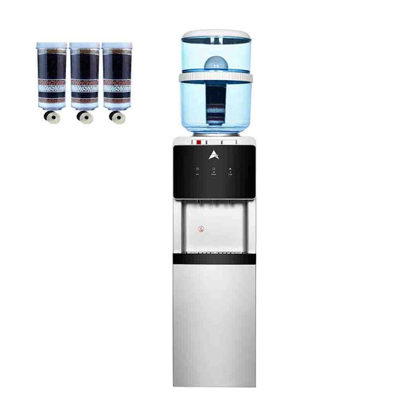aimex water cooler black free standing