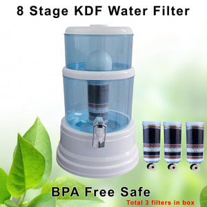 Aimex 8 Stage Water Filter Purifier Dispenser 16L Bonus 2 Filter Cartridges - Ozstar.com.au