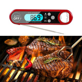 Digital Food Thermometer BBQ Cooking Meat Kitchen Temperature Magnet Probe Grill - Ozstar.com.au