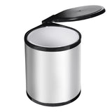 Kitchen Swing Pull Out Bin Garbage Rubbish Waste Trash Can Stainless Steel