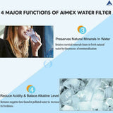 Aimex Water ®️ 8 Stage Water Fluoride Filters Purifier Dispenser Bench Top BPA Free - Ozstar.com.au