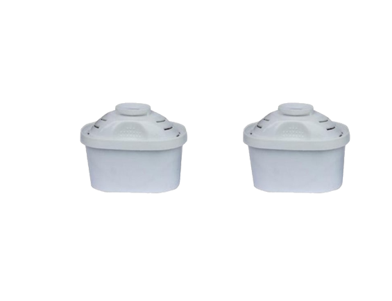 Water Filter Jug Purifier Pitcher Refill Replacement Cartridge Pack of 2