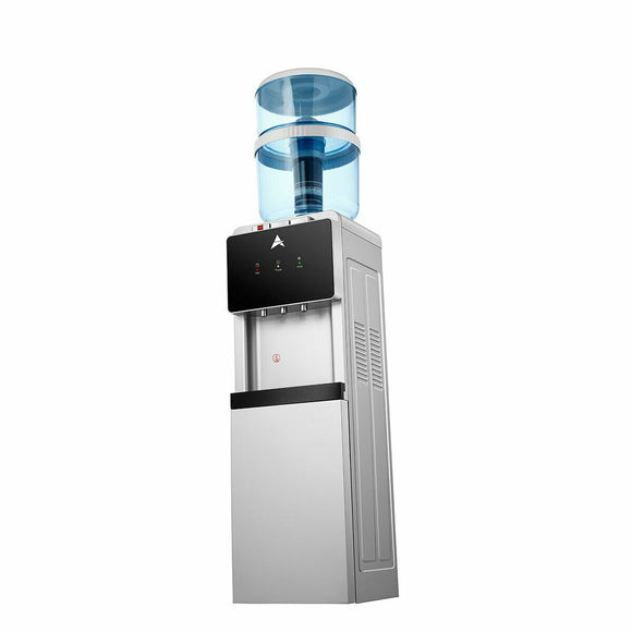 Water Cooler Dispenser Aimex Water Silver Black AWESOME