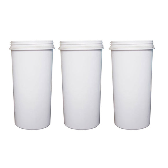 8 Stage Water Filter KDF Charcoal Ceramic BPA Free White 3 Pack - Ozstar.com.au