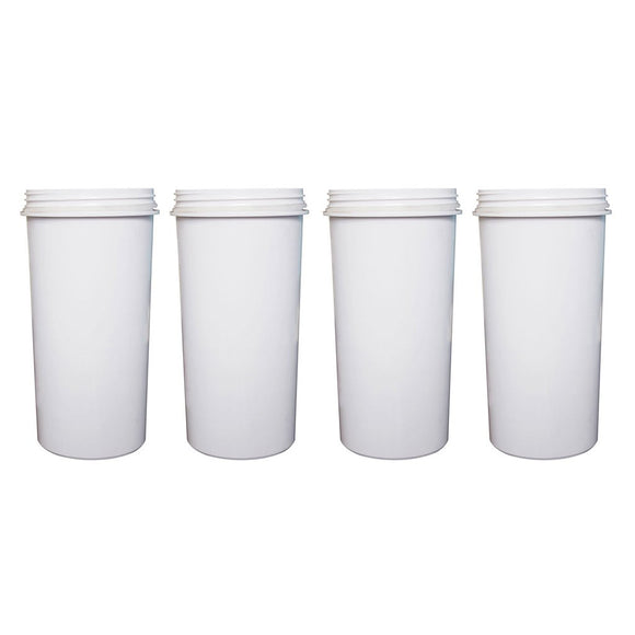 8 Stage Awesome Aimex Water Filter KDF Charcoal Ceramic BPA Free White 4 Pack - Ozstar.com.au