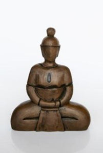 Brown sitting ornament 48X37CM  unique wood lifestyle