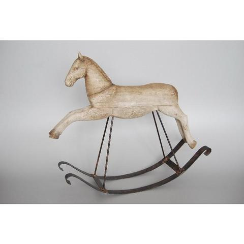 Resin Rocking Horse - Unique Wood