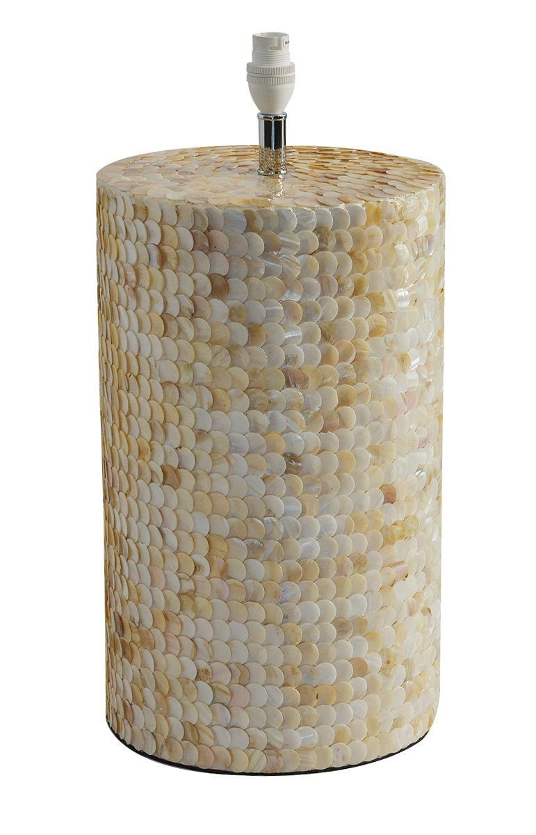 Unique wood mop lamp pearl
