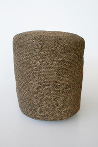 Jute grass pouffe 47X40CM unique wood lifestyle