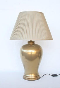 Gold Lamp - Unique Wood