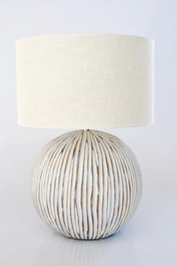 Ribbed Lamp - Unique Wood