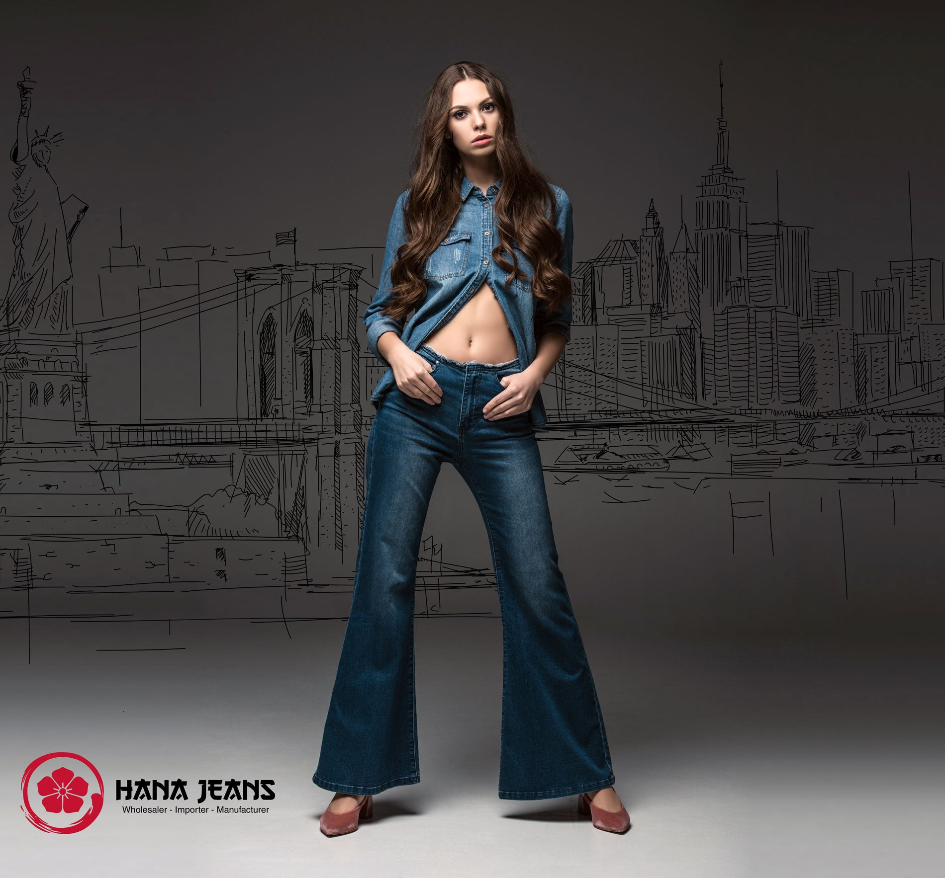 Flared Jeans - The Vintage Vibe of Denim.