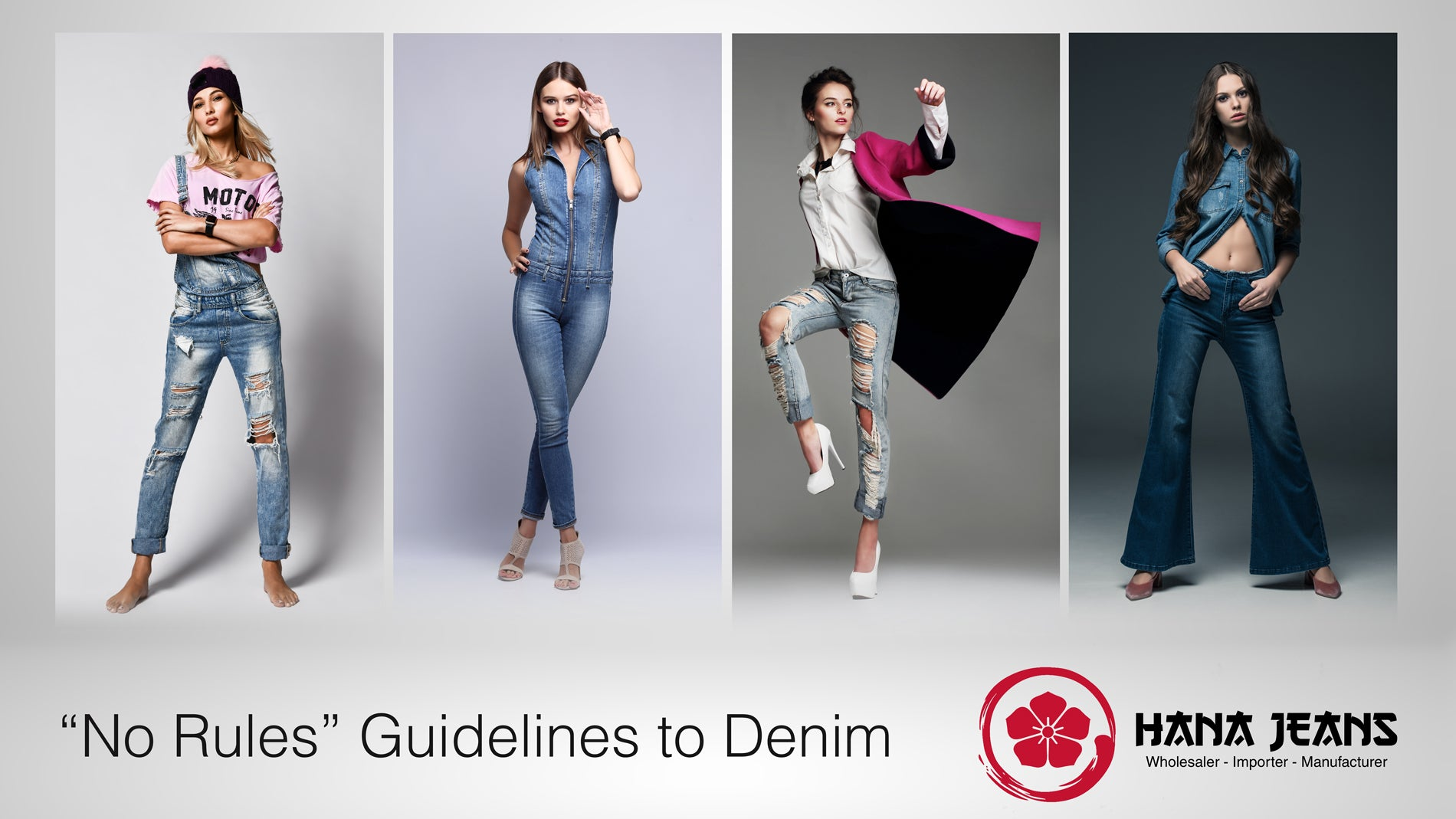 """No Rules"" Guide to Women's Denim Jeans"