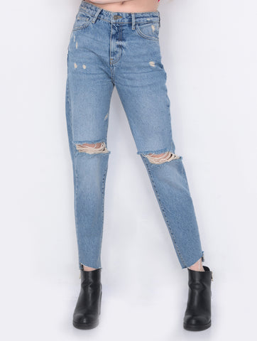 Women's High Rise Wedgie  Jeans,  Ripped Denim  Jeans | Hana Jeans Wholesale