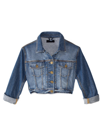 Women's Cropped Denim Jacket | Hana Jeans Wholesale