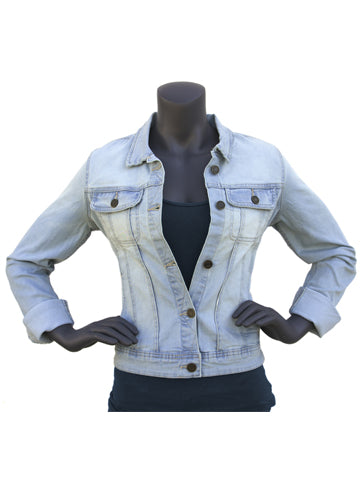 Women's Lightweight Denim Jean Jacket | Hana Jeans Wholesale