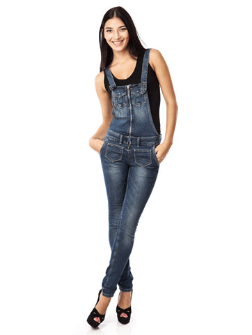 Women's Denim Romper Skinny Fit Overall | Hana Jeans Wholesale