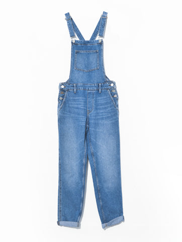 Women's Relaxed Fit Denim Jumper Romper Overall | Hana Jeans Wholesale