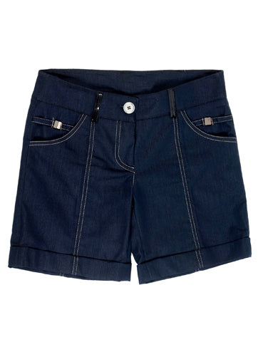 Women's High Rise Dark Denim Short | Hana Jeans Wholesale