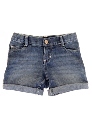 Women's Mid Rise Dark Denim Shorts | Hana Jeans Wholesale